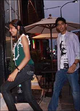 Dev Patel & Freida Pinto