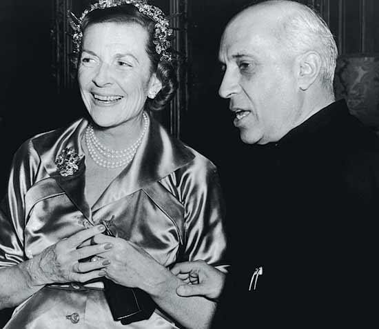 Nehru and Edwina
