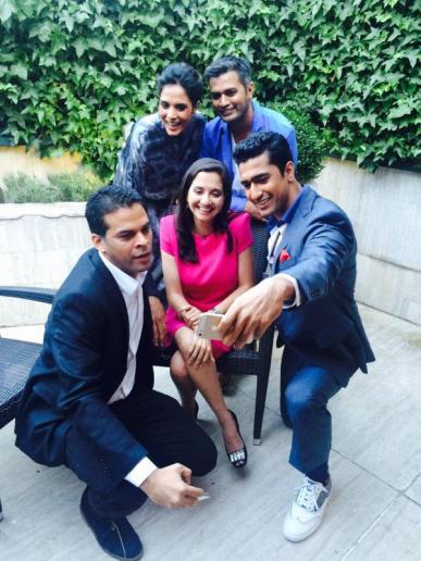 Cast with Anupama Chopra