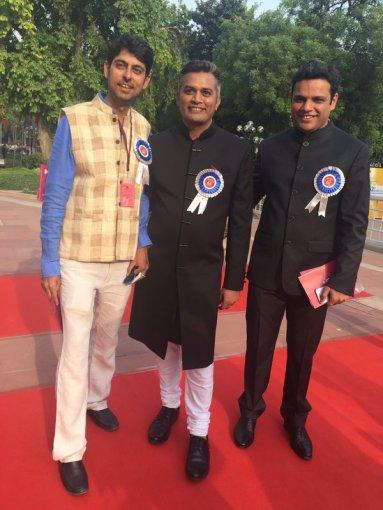 Varun Grover, Neeraj Ghaywan, Sharat Katariya (Director, DLKH)