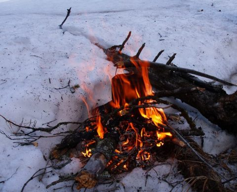Bonfireは土とパイプを温度に温かく暖かくする