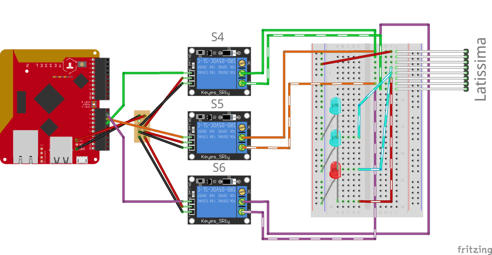 medium resolution of diagram of the breadboard setup for the tessel