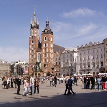Église Sainte-Marie sur la Place du marché