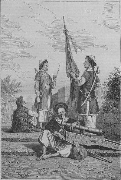 Tài thiện xạ của binh lính thời Lê Trung Hưng trong con mắt người phương Tây