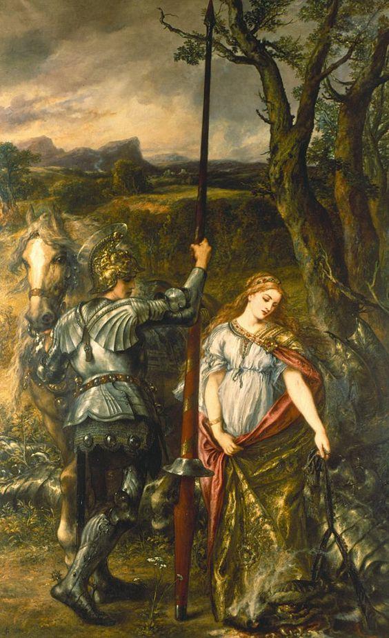 Tìm hiểu nghệ thuật Phục Hưng: Thánh kỵ sĩ giết rồng