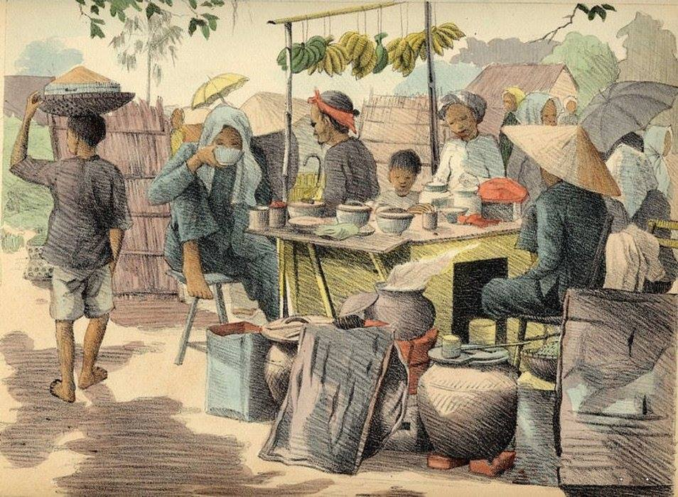 Bộ tranh vẽ cuộc sống người Việt vào thập niên 1930