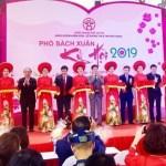Khai mạc Phố sách Xuân Kỷ Hợi 2019