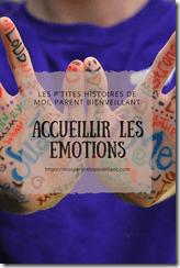 Accueillir les émotions, c'est le premier pas pour Faber & Mazlish, et l'une des 4 étapes de la CNV. Et pourtant, on se coupe souvent de ses émotions en présence de ses enfants...