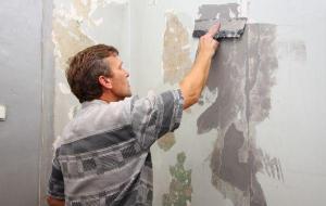 Подготовка стен к отделке