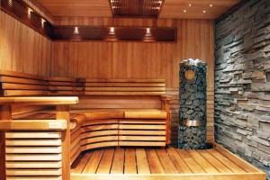Теплый пол в деревянной бане