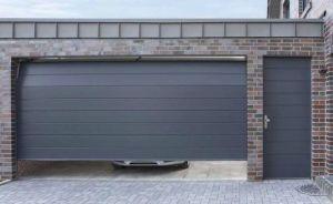 Секционные гаражные ворота. Места для применения