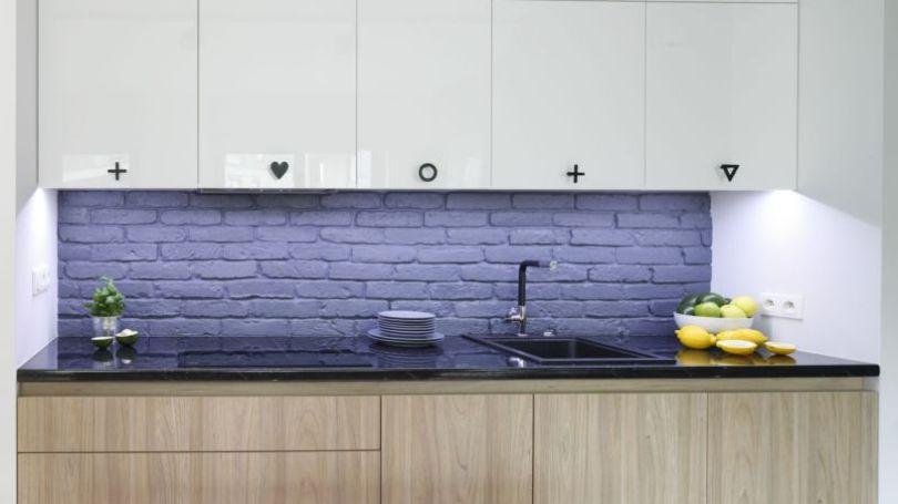 кухонные фартуки фото