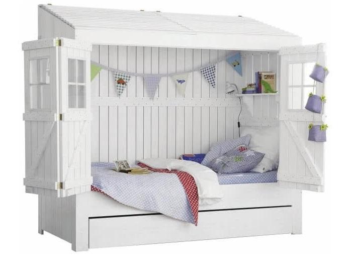 красивые кровати для девочек