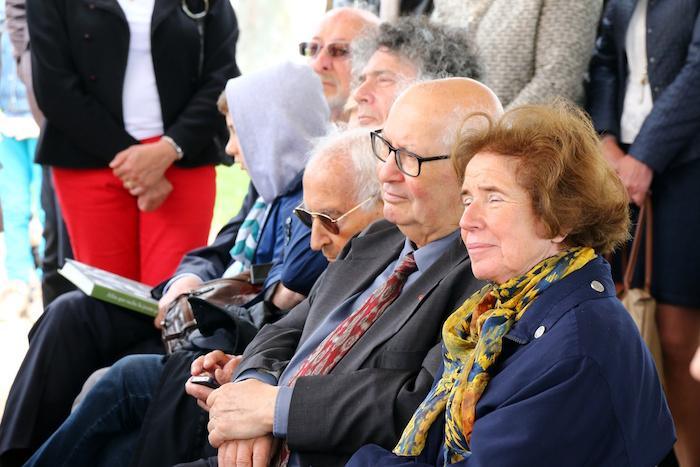 Serge et Beate Klarsfeld à Moissac le 29 mai 2016