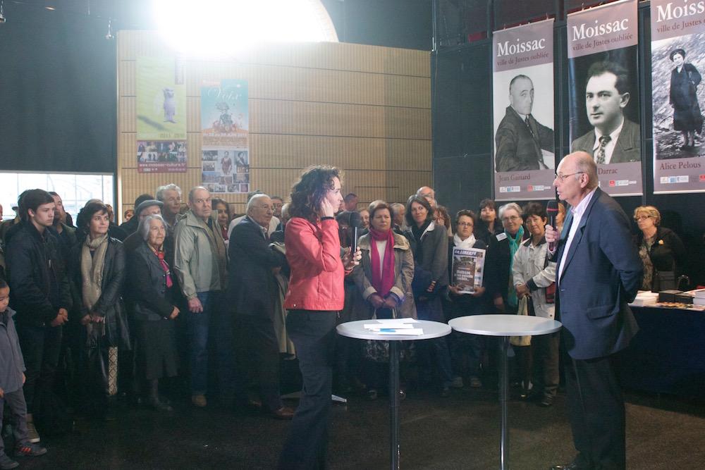 Marie-Sophie Lacarrau en direct du Hall de Paris avec Boris Cylrulnik – Moissac 27 avril 2013