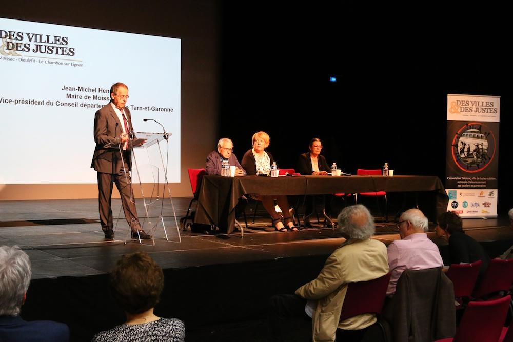 Des villes et des Justes – Jean-Michel Henryot, Moissac 28 mai 2016