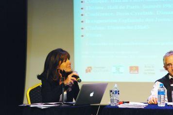 Annie-Claude Elkaim a organisé et présenté les rencontres de 2013
