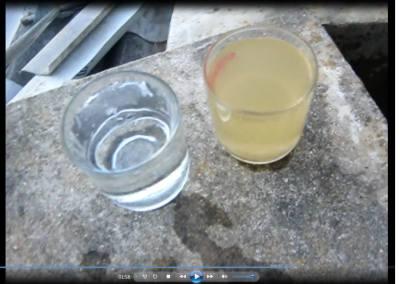 Clip xử chất lượng xử lý nước thải sau khi xử lý