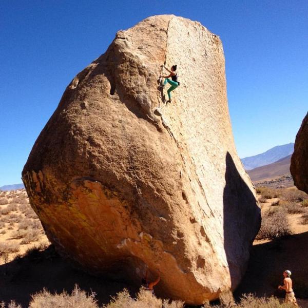 Climb Highball Boulder