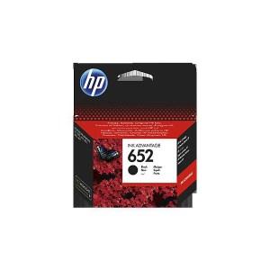HP 652 Black Original Ink Advantage Cartridge (F6V25AE)