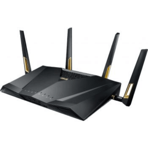 ASUS RT-AX88U AX6000 Dual Band 802.11ax WiFi Router Supporting MU-MIMO and OFDMA Technology