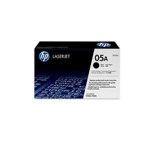 HP 05A Black Original LaserJet Toner Cartridge CE505A 2