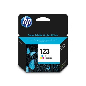 HP 123 Tri color Original Ink Cartridge