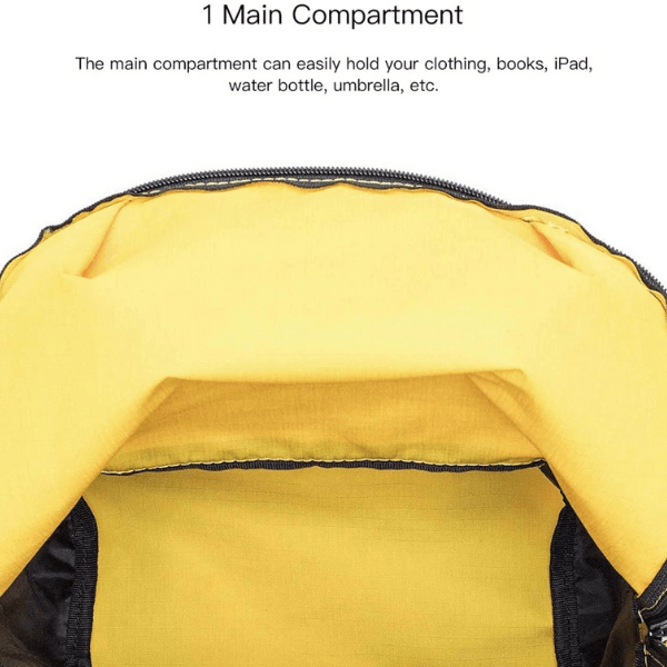 Millet small backpack yellow2