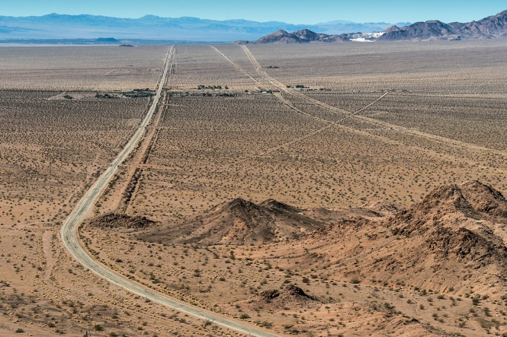 medium resolution of photo view of chambless ca along the national trails highway route 66 from the