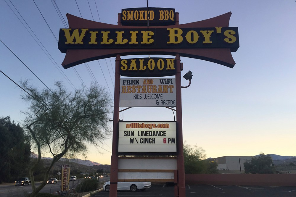 medium resolution of  willie boy s saloon in morongo valley on state highway 62 photo kim stringfellow