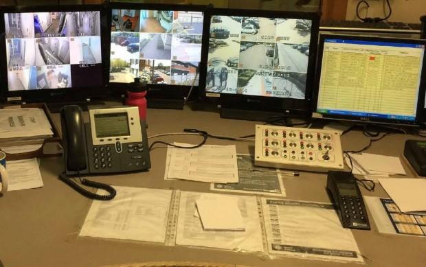 Police custody desk