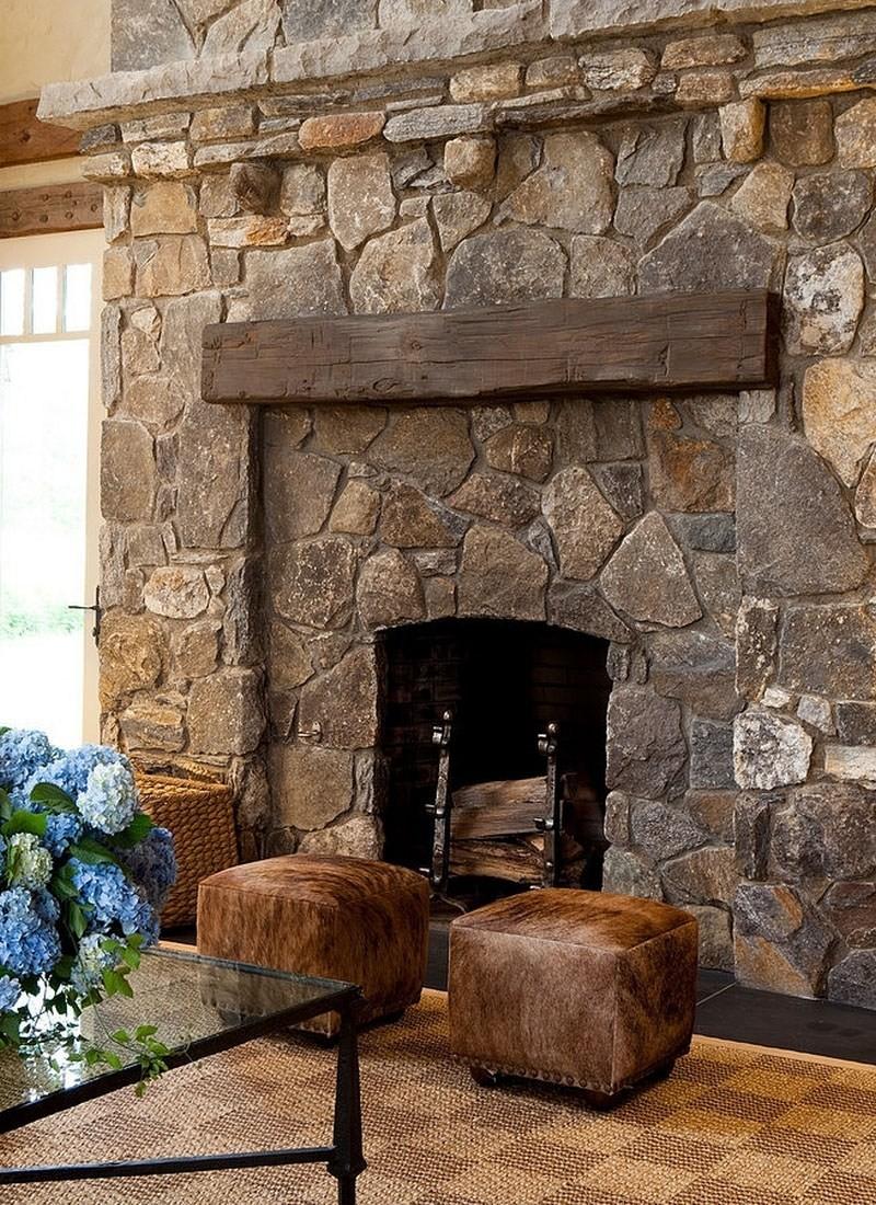 камин обложенный камнем натуральным фото такого острова составляет