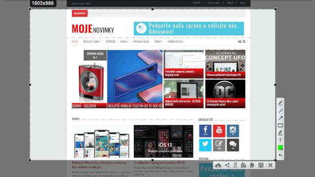 Nejlepší ScreenShot aplikace pro Windows