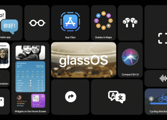 """""""glassOS"""" koncept ukazuje operační systém pro Apple Glasses"""