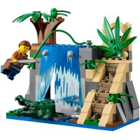 Lego 60160 Jungle Mobile Lab, LEGO Sets City - MojeKlocki24