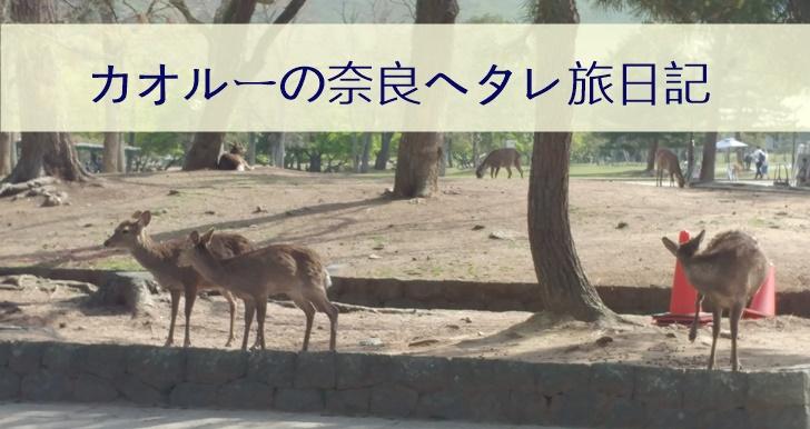 奈良旅で人生の恐怖と向き合った話