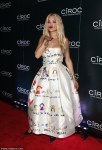 You Like? Rita Ora's Doll Satin Dress Adorned With Children's Artwork(Must See Look)