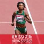 #Rio2016: Nigeria's Patience Okon George Shines In 400m Heat Opener