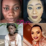 Nigerian Lady Makes Up As Bobrisky For Halloween-Did She Nail It?