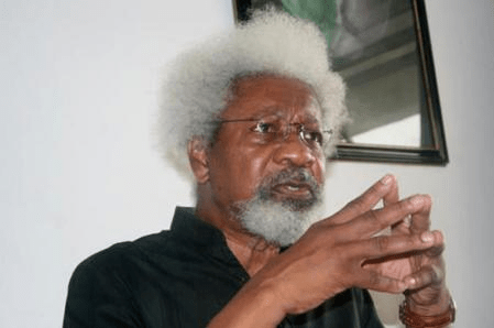 TRUMP WINS: Wole Soyinka And The Destruction Of The Green Card