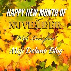 Happy November Everyone!!!