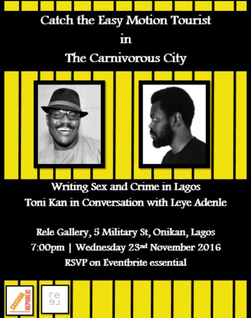 Toni Kan And Leye Adenle In Joint Reading At Rele