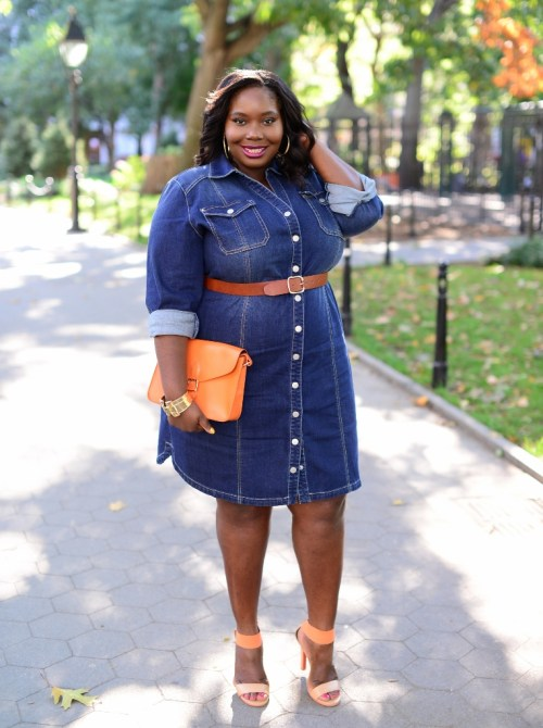 PLUS SIZE STYLE: How To Rock A Jean Jacket