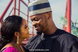 Traffic Love: Amazing Lagos Couple Who Met In a Traffic Jam are Now Married [See Pictures]