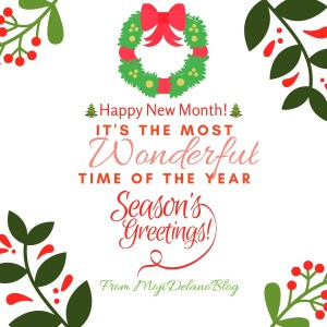 Happy New Month Of December People!