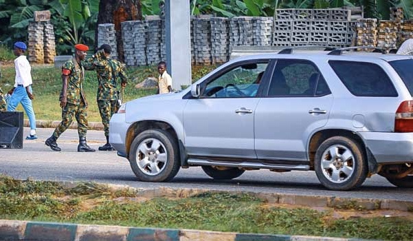 #EndSARS: Soldiers Take Over Streets, Strategic Locations In Abuja