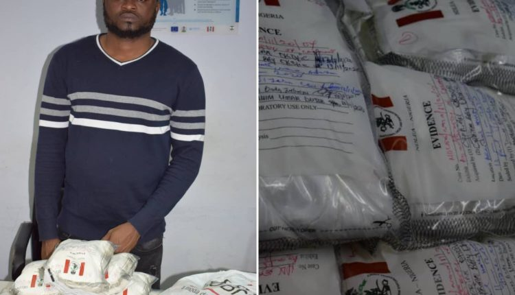NDLEA Arrests Brazil Returnee With 12.05kg High-Grade Cocaine At Abuja Airport