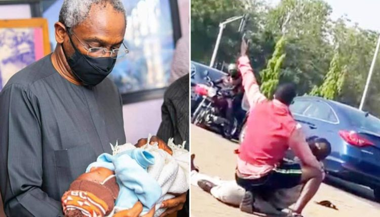 Femi Gbajabiamila Visits Family Of Newspaper Vendor Shot Dead By His Security Aide