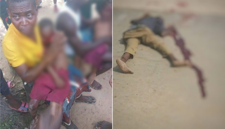 Angry Youths Lynch Truck Driver, Conductor For Crushing Five School Children To Death In Ebonyi