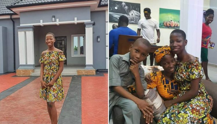 Child Comedienne, Emmanuella Builds House For Mother As Early Christmas Gift